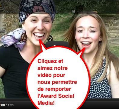Cliquez et votez pour cette vidéo virale réalisée par les jeunes de la paroisse du Joran!