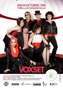 Voix tracées à Forel (Lavaux) pour le groupe Voxset