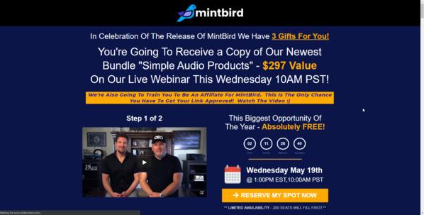 Klicken Sie auf diesem Link zum registrieren und 3 Boni zu erhalten: http://smartketinglinks.com/mintbird
