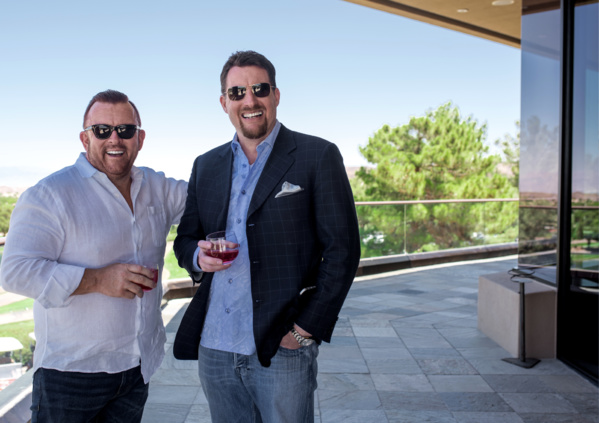 Les fondateurs de mintbird: Perry Belcher et Chad Nicely