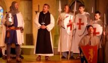 Nouvelle création originale à Forel (Lavaux) en 2014 : Aliénor à l'Abbaye de Haut-Crêt – Le monastère sous haute tension