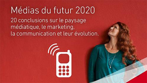 """La brochure """"Médias du futur 2020"""" éditée par Publisuisse"""