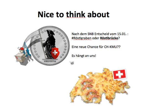Après l'abandon du taux plancher: Le pont de Rösti au secours des PME suisses