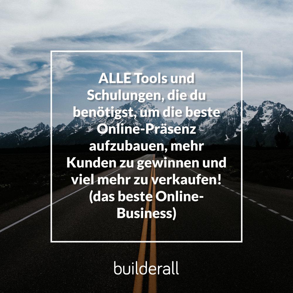 Mein erstes Wochenende Erfahrung mit der online Marketing Platform myBuilderall4you.ch