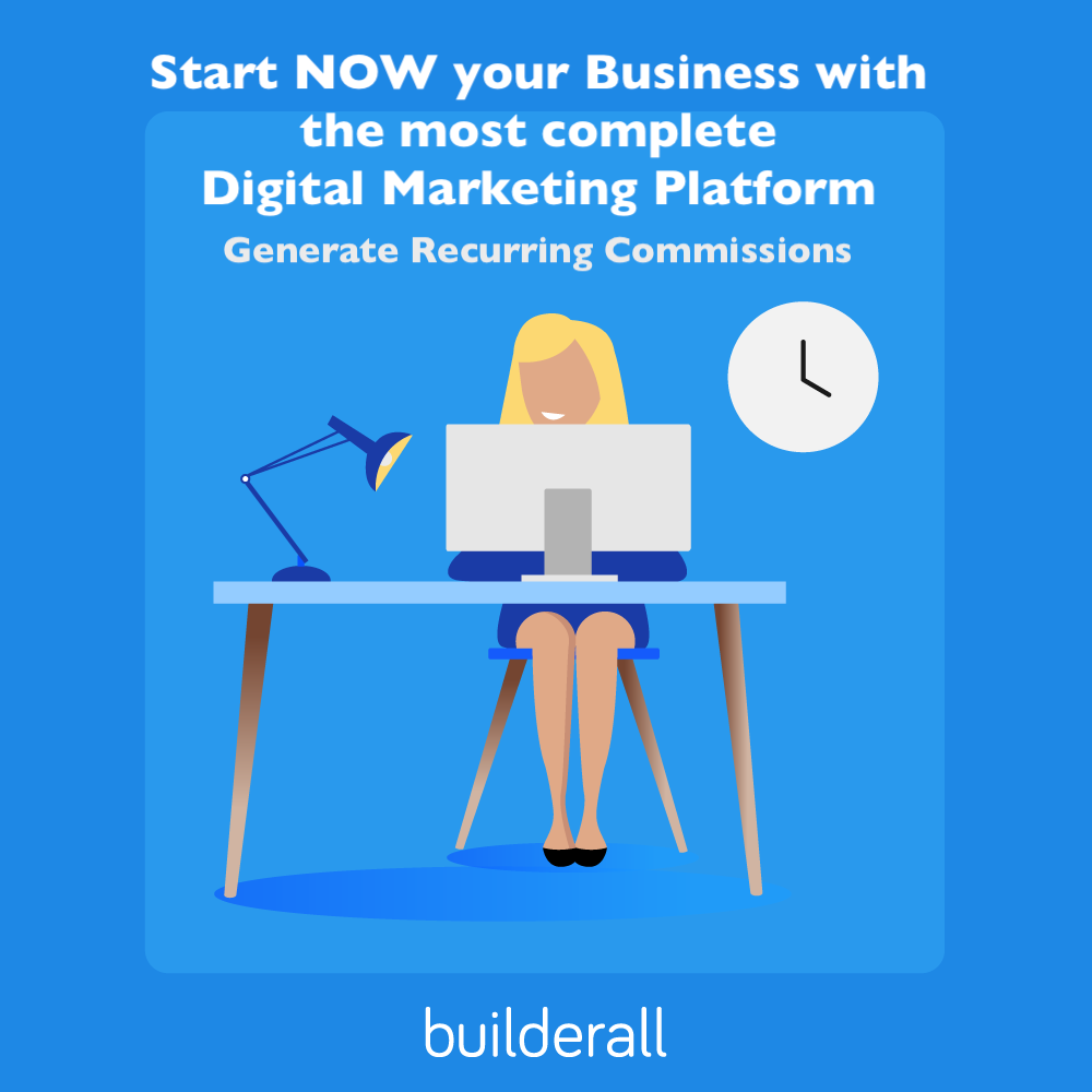 Mon 8e jour d'expérience avec la plateforme de marketing en ligne myBuilderall4you.ch