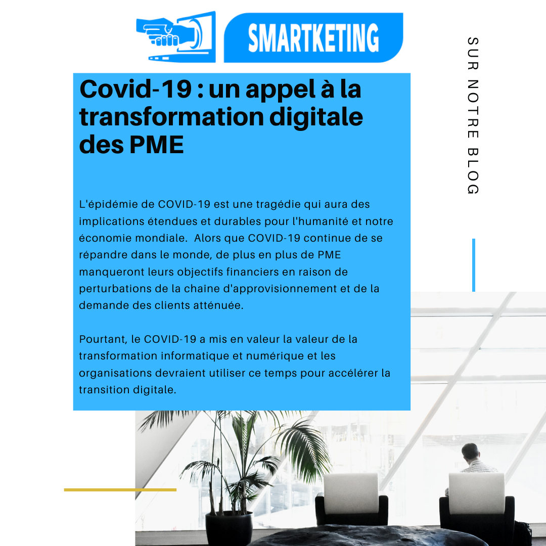 Covid-19 : un appel à la transformation digitale des PME