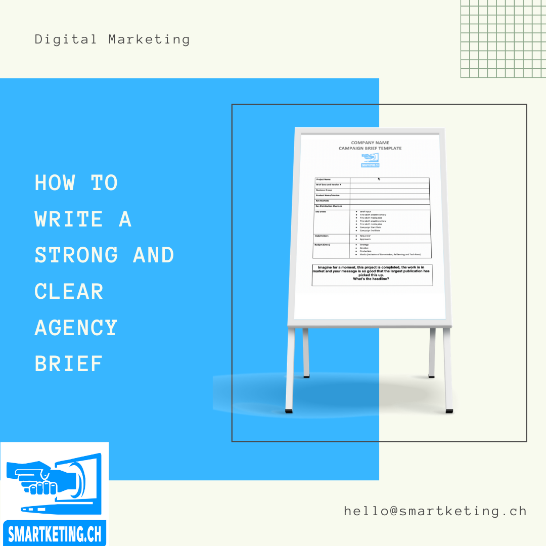 How to Write a Strong and Clear Agency Brief