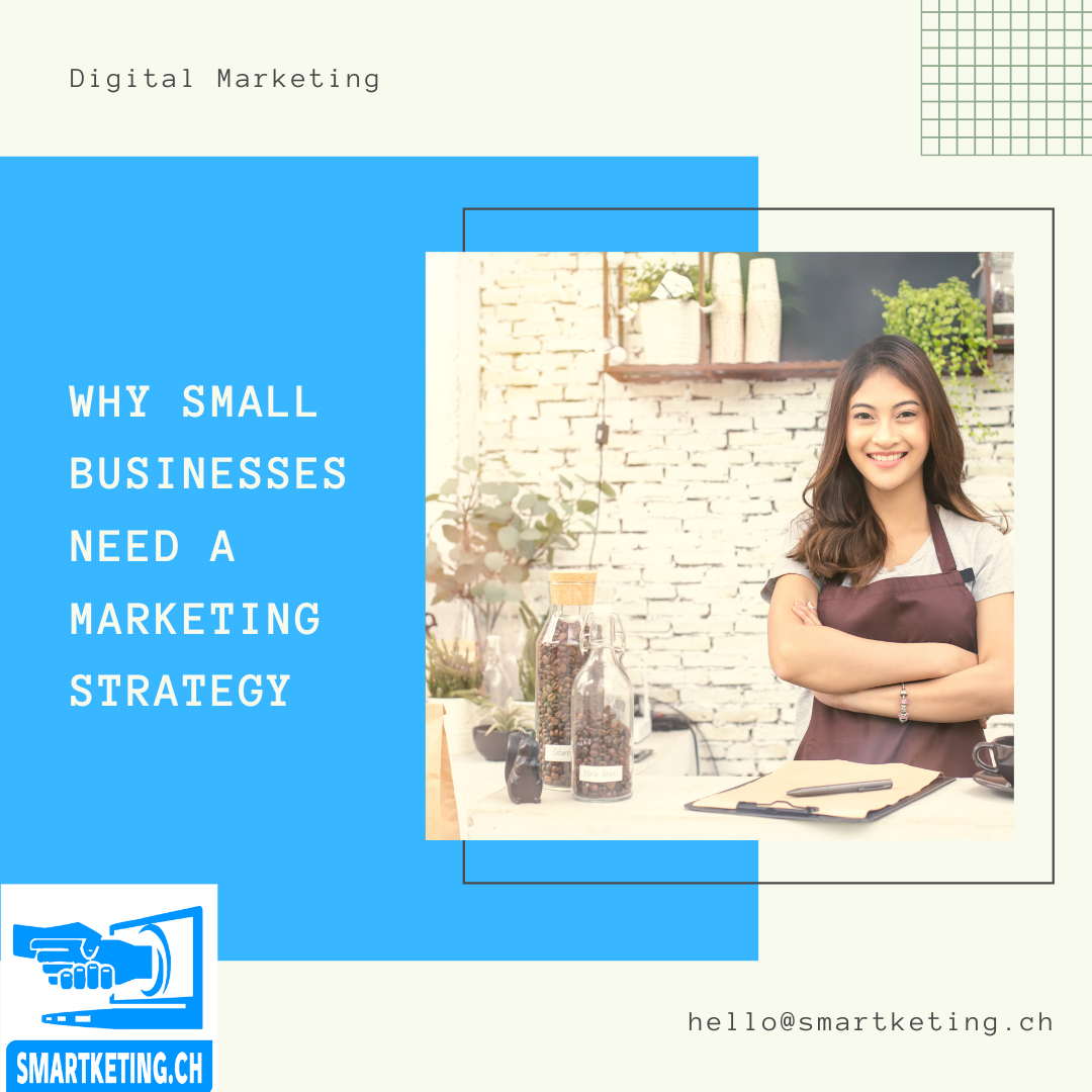 Why Small Businesses Need a Marketing Strategy and what should be in it...