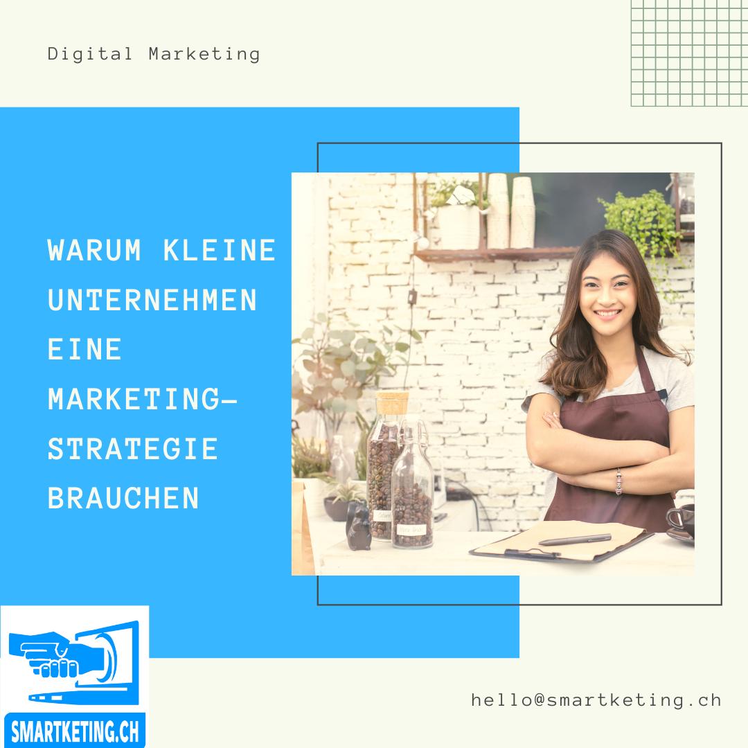 Warum kleine Unternehmen eine Marketingstrategie brauchen und was darin enthalten sein sollte ...
