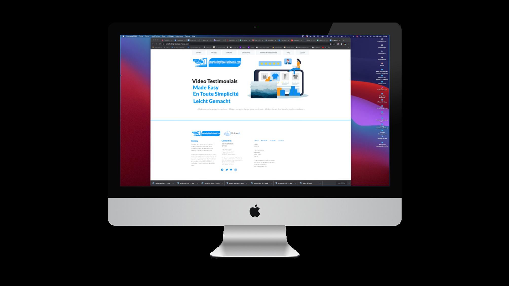 Lancement de la plateforme SaaS de témoignages vidéo pour les PME et les indépendants smartketingvideotestimonial.com