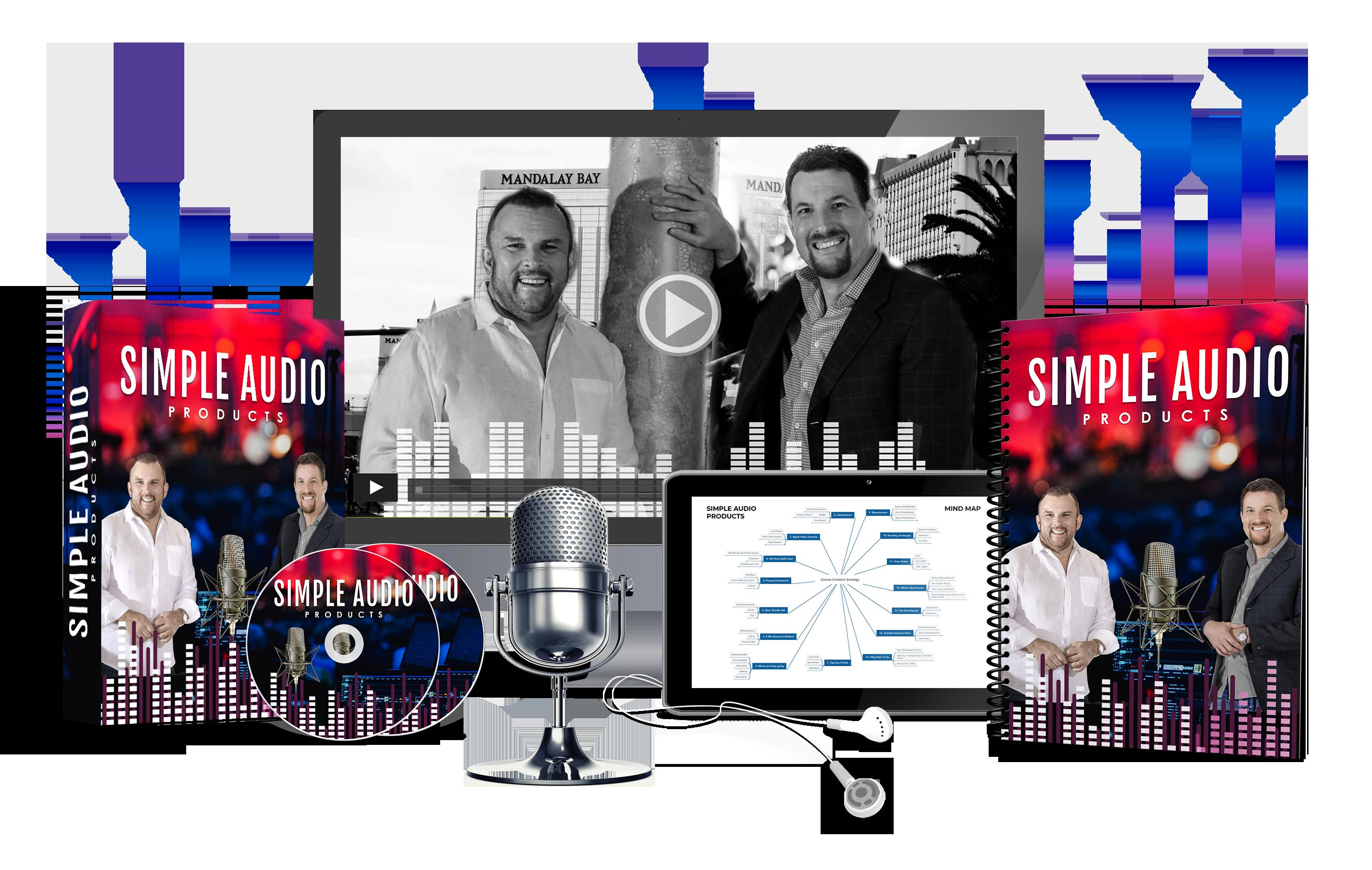 Votre premier bonus gratuit: Simple Audio Product