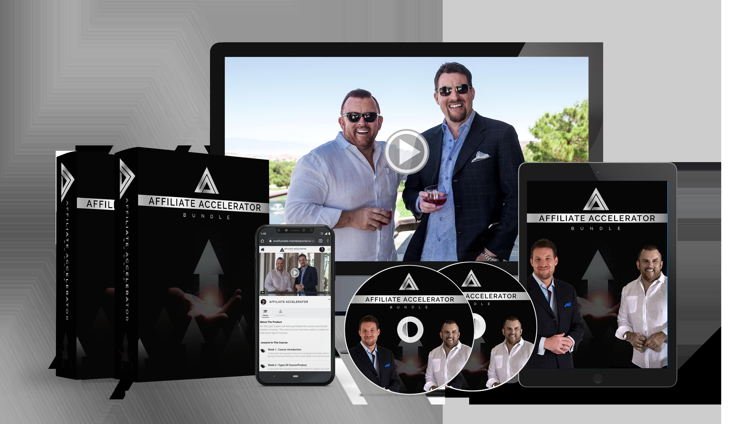 Le programme gratuit Affiliate Accelerator vous permet d'apprendre toutes les ficelles du métier du marketing d'affiliation par deux parmi les meilleurs spécialistes du genre sur la planète