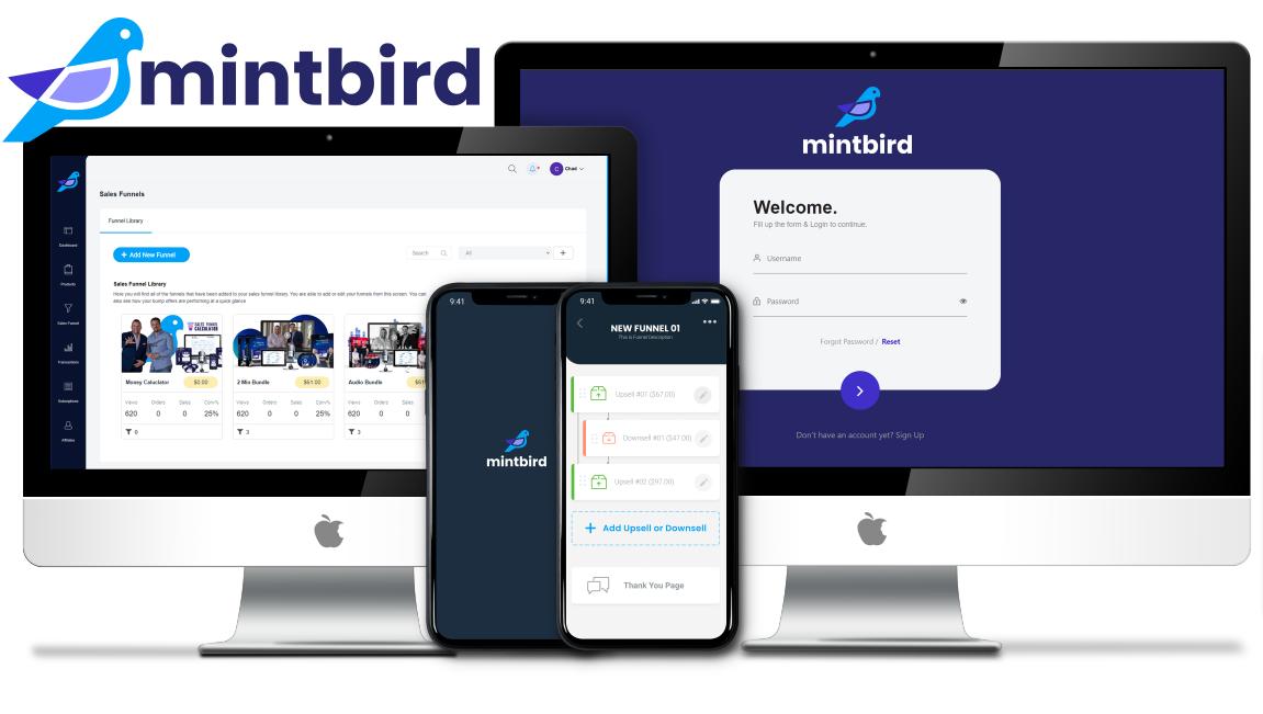 Verkaufstrichtern innert 2 Minuten zu bauen is möglich! Ab 29. Juli 2021 wird mintbird das Leben von Online-Marketern drastisch vereinfachen. ROI gewährleistet!