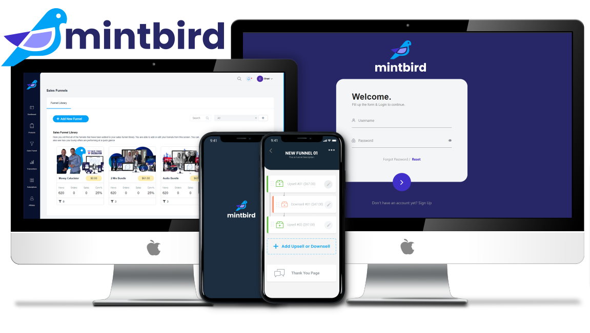 Click on this URL: http://smartketinglinks.com/mintbird to register to the MintBird Launch on September 21th and take part to the Power Affiliate Accelerator Bootcamps and get all bonuses given away during the prelaunch period!