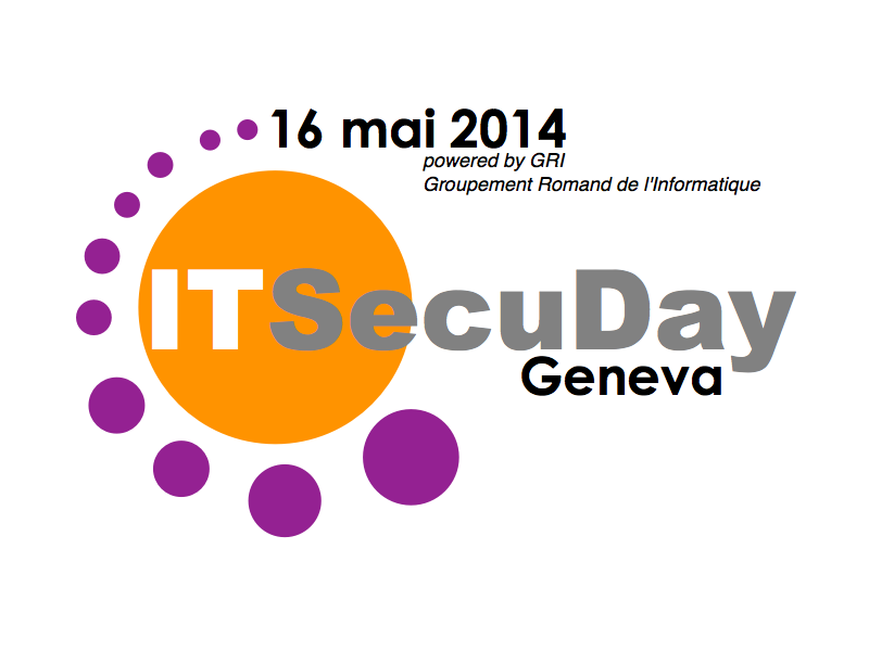 le logo ITSecuDayGeneva2014