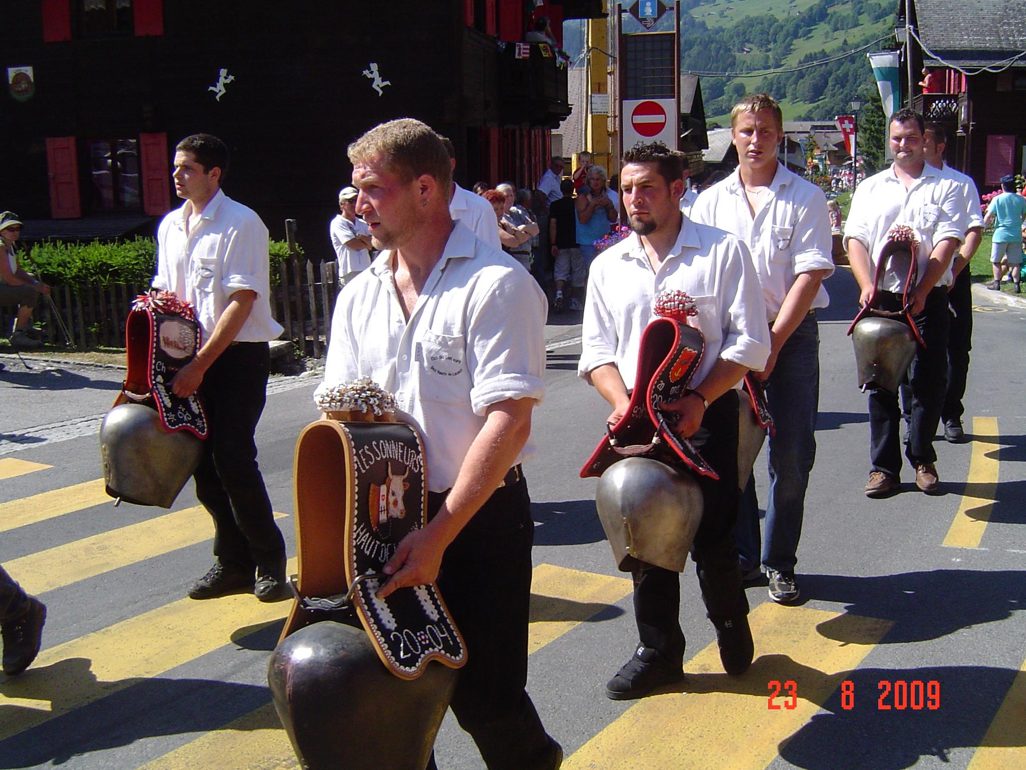 5e Fête romande des sonneurs de cloche à Savigny les 28 et 29 août 2015:  Un programme de sonnés !