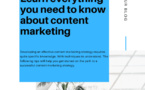Learn everything you need to know about content marketing