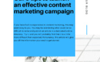 Our 9 tips to launch an effective content marketing campaign
