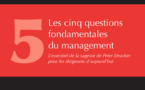 Les cinq questions fondamentales de direction d'Eglise selon Peter F. Drucker